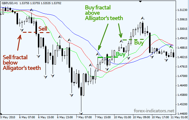 Forex fractals Bill Williams